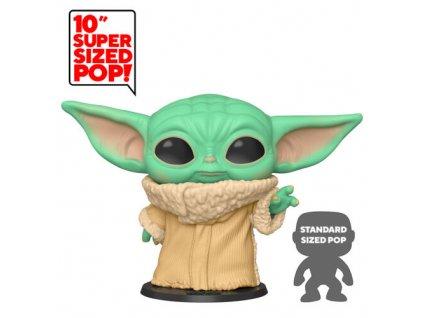 "Funko POP! POP Star Wars: Mandalorian- 10 The Child Vinyl Figure 25cm"""