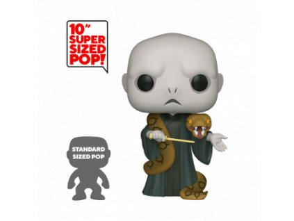 Funko POP! Harry Potter - 10 Voldemort w/Nagini Vinyl Figure 25cm""