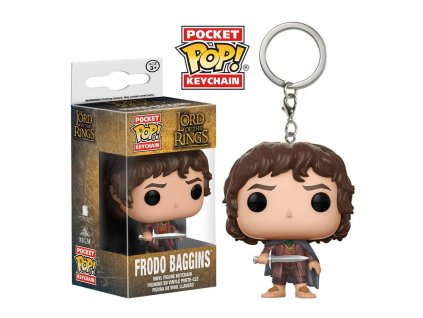 Klíčenka Pocket POP! Pán Prstenů: Frodo Baggins