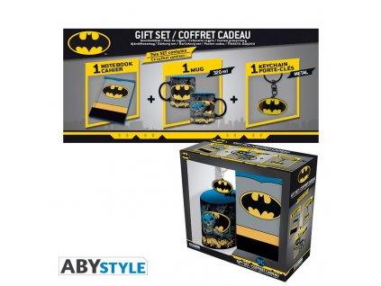dc comics pck mug320ml keyring notebook batman