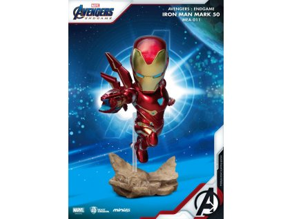 Avengers: Endgame Mini Egg Attack Figure Iron Man MK50 10 cm
