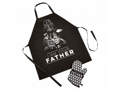 Star Wars Fathers Day Apron & Oven Glove Set I Am Your Father