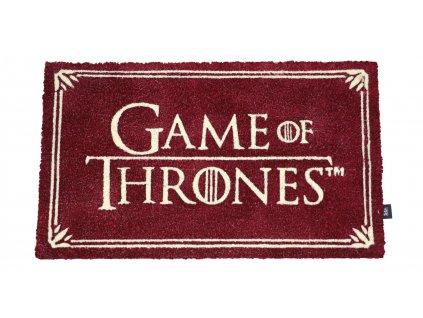 Game of Thrones Doormat Logo 43 x 72 cm