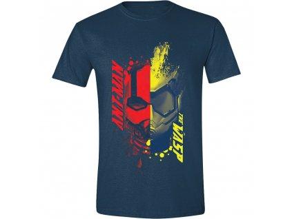 Pánské tričko Ant-Man and the Wasp - 2 Face - Navy (Velikost XXL)