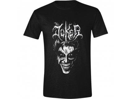 Pánské tričko Batman - Death Metal Joker - černé (Velikost M)