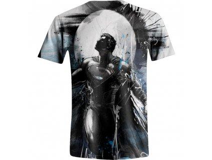 Pánské tričko DC Comic superman Art - bílé (Velikost XXL)
