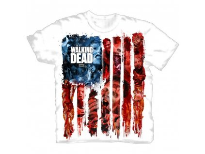 Tričko The Walking Dead - American Gore T-Shirt - bílé (Velikost XXL)