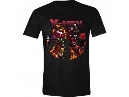 Pánské tričko X-Men - Dark Phoenix Montage - černé (Velikost XXL)