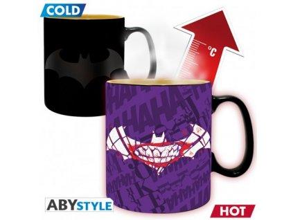 dc comics mug heat change 460 ml batman matte with box x2