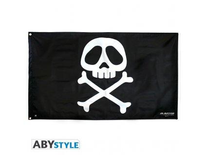 captain harlock flag emblem 70x120