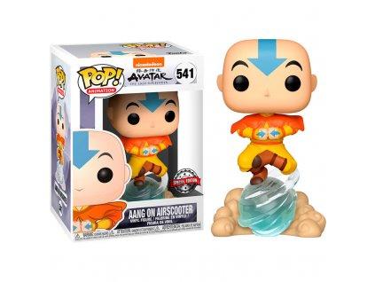 Figurka Funko POP! Avatar Aang na vzdušném skůtru [Exclusive]