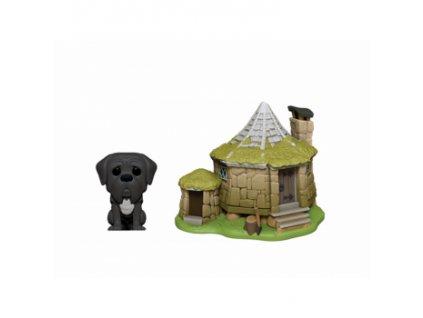 Funko POP! POP Town: HP - Hagrid's Hut w/ Fang Vinyl Figure 10cm