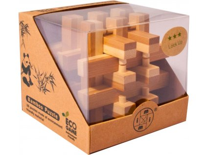 Bambusový hlavolam - Klec