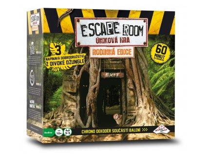 ESCAPE ROOM: úniková hra Rodinná edice - 3 scénáře