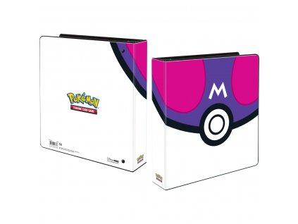 Pokémon UP: Master Ball - 3 kroužkový pořadač na stránkové obaly