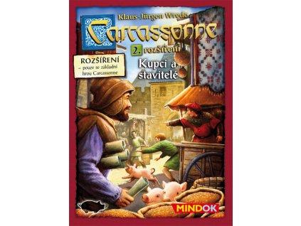 Carcassonne rozšíření 2 Kupci a stavitelé