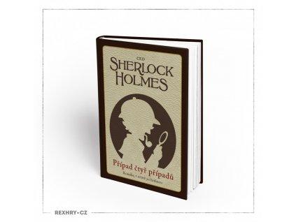Komiks, v němž jsi hrdinou - Sherlock Holmes - Případ čtyř případů