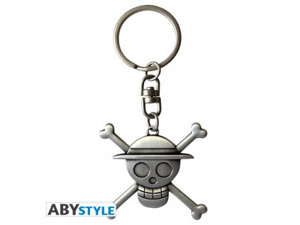 "ONE PIECE - Porte-clés 3D ""Skull Luffy"" X2"