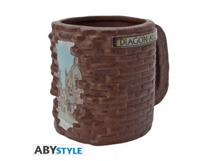 HARRY POTTER - Mug 3D - Diagon Alley x2*