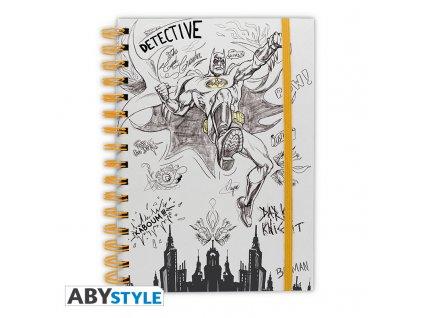 """DC COMICS - Notebook """"Graphic Batman"""" X4 *"""