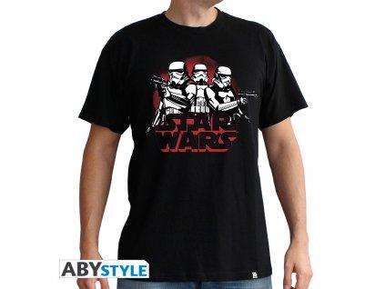 "STAR WARS - Tshirt ""StormTroopers"" man SS black - basic*"