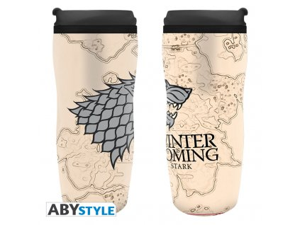 """GAME OF THRONES - Travel mug """"Winter is coming""""*"""