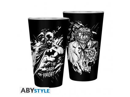 DC COMICS - Verre XXL - 400 ml - Batman & Joker- x2