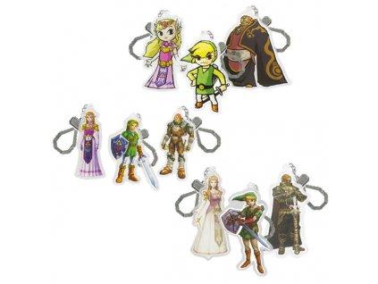 ZELDA - Porte-clef Figurines Foil Pack x24*