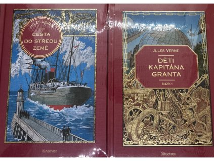 Jules Verne kolekce knih 1: Cesta do středu země + Děti Kapitána Granta svazek 1