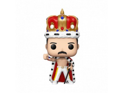 Funko POP! Queen - Freddie Mercury King Vinyl Figure 10cm