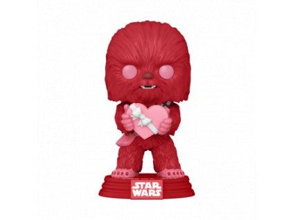 Funko POP! POP Star Wars: Valentines - Cupid Chewbacca Vinyl Figure 10cm