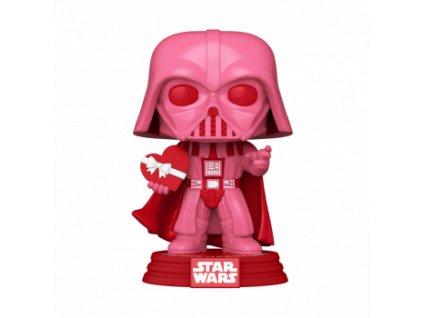 Funko POP! POP Star Wars: Valentines - Vader w/Heart Vinyl Figure 10cm