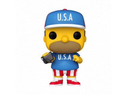 Funko POP! Simpsons - USA Homer Vinyl Figure 10cm
