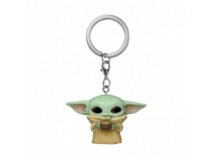 Funko POP! POP Keychain: The Mandalorian - The Child w/Cup