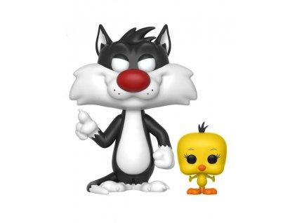 Looney Tunes POP! Television Vinyl Figure Sylvester & Tweety 9 cm