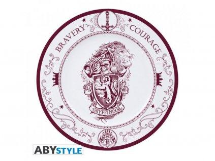 Set 6 talířů HARRY POTTER - Znak Nebelvíru [BEZ OBALU]