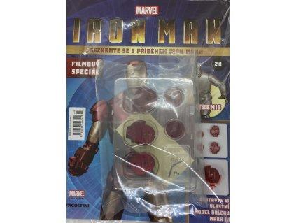 Figurka Iron Man De AGOSTINI 20