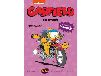 Garfield to smaží (č. 55)