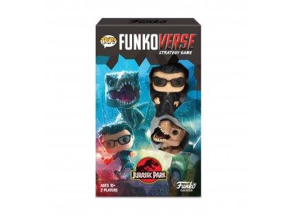 Jurassic Park Funkoverse Board Game 2 Character Expandalone *English Version*