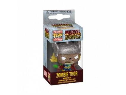 Funko POP! Keychain Marvel Zombies - Thor Vinyl Figure