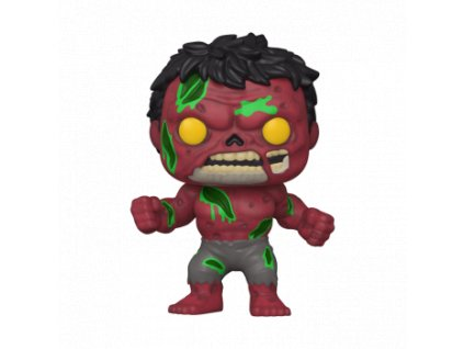 Funko POP! Marvel Zombies - Red Hulk Vinyl Figure 10cm