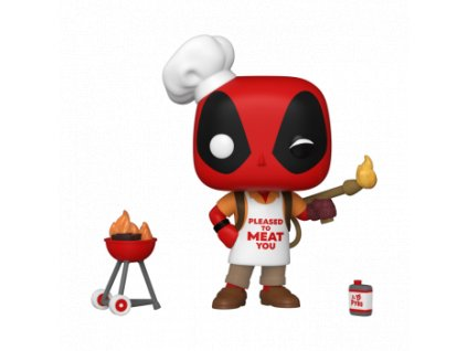 Funko POP! Deadpool 30th - Backyard Griller Deadpool Vinyl Figure 10cm