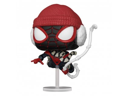 Marvel's Spider-Man POP! Games Vinyl Figure Miles Morales Winter Suit 9 cm