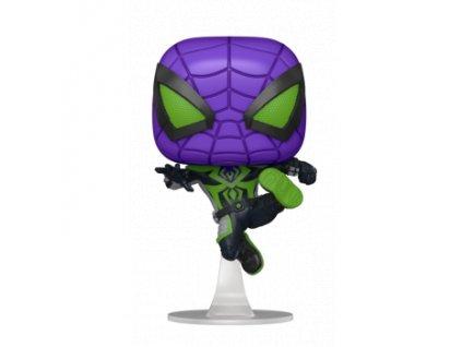 Funko POP! POP Games: Miles Morales - Purple Reign Suit Metallic Figure 10cm