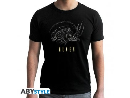 alien tshirt alien man ss black new fit