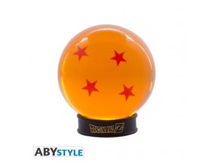 DRAGON BALL - Boule de cristal 4 étoiles 75 mm + socle
