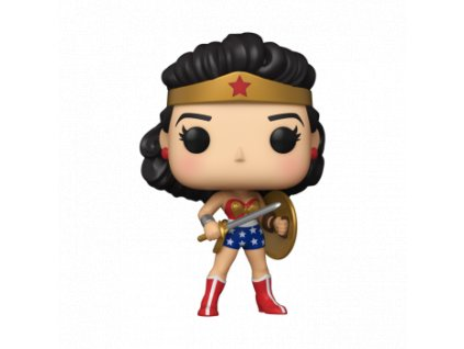 Funko POP! WW 80th - Wonder Woman (Golden Age) Vinyl Figure 10cm