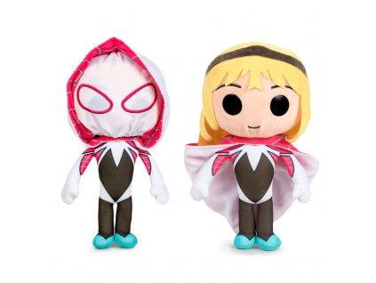 Plyšák Spider-Man - Gwen Stacy s kapucí