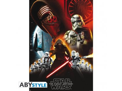 star wars poster first order group 98x68