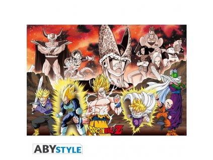 dragon ball poster dbz group cell arc 915x61